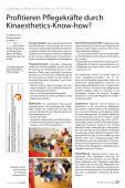 Profitieren Pflegekräfte durch Kinaesthetics-Know-how?