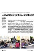 Ludwigsburg ist kinaesthetisches Mekka
