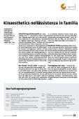 Kinaesthetics nell assistenza in familia