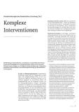 Komplexe Intervention