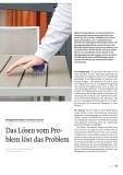 Das Lösen vom Problem löst das Problem