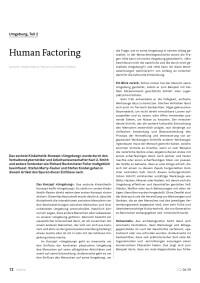Human Factoring