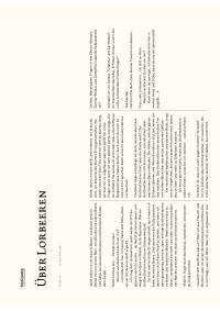 PDF - Über Lorbeeren