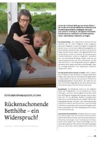 PDF - Rückenschonende Betthöhe - ein Widerspruch!