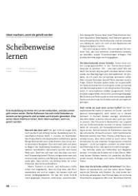 PDF - Scheibenweise lernen