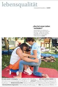 Zeitschrift Lebensqualität 2007 Nummer 1 Titelseite
