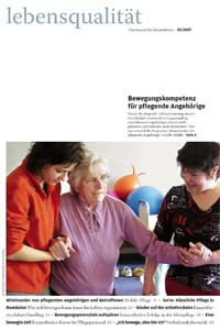 Zeitschrift Lebensqualität 2007 Nummer 2 Titelseite