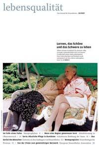 Zeitschrift Lebensqualität 2007 Nummer 3 Titelseite