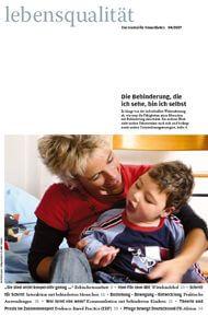 Zeitschrift Lebensqualität 2007 Nummer 4 Titelseite
