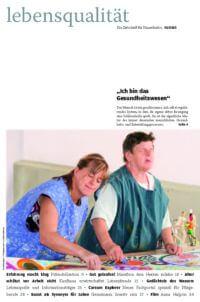 Zeitschrift Lebensqualität 2010 Nummer 1 Titelseite
