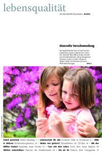 Zeitschrift Lebensqualität 2010 Nummer 2 Titelseite