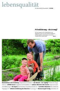 Zeitschrift Lebensqualität 2010 Nummer 4 Titelseite