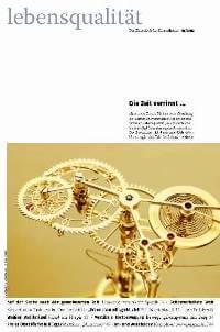 Zeitschrift Lebensqualität 2012 Nummer 1 Titelseite