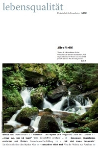 Zeitschrift Lebensqualität 2012 Nummer 3 Titelseite