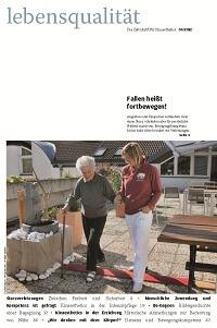 Zeitschrift Lebensqualität 2012 Nummer 4 Titelseite