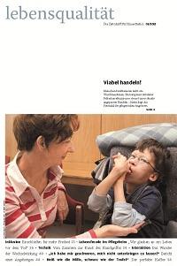 Zeitschrift Lebensqualität 2013 Nummer 1 Titelseite