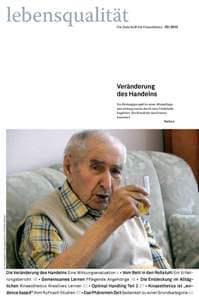 Zeitschrift Lebensqualität 2013 Nummer 3 Titelseite