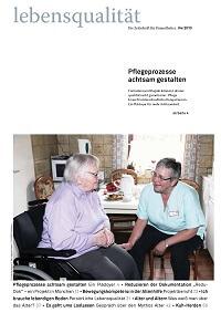 Zeitschrift Lebensqualität 2013 Nummer 4 Titelseite