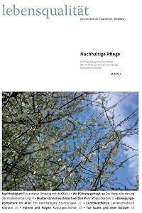 Zeitschrift Lebensqualität 2014 Nummer 2 Titelseite