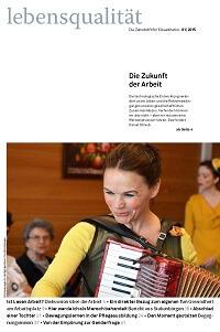 Zeitschrift Lebensqualität 2015 Nummer 1 Titelseite