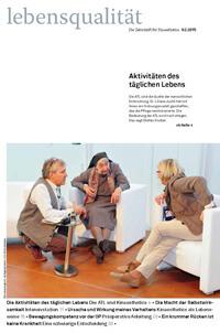 Zeitschrift Lebensqualität 2015 Nummer 2 Titelseite