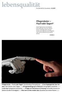 Zeitschrift Lebensqualität 2015 Nummer 3 Titelseite