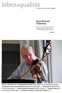 Zeitschrift Lebensqualität 2015 Nummer 4 Titelseite