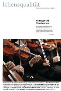 Zeitschrift Lebensqualität 2016 Nummer 3 Titelseite