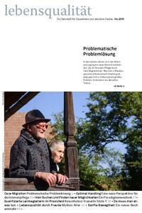Zeitschrift Lebensqualität 2016 Nummer 4 Titelseite