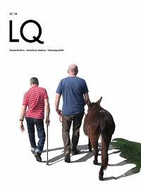 Zeitschrift Lebensqualität 2018 Nummer 1 Titelseite